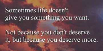 Inspirational life Quotes Sometimes life 'Doesn't Give