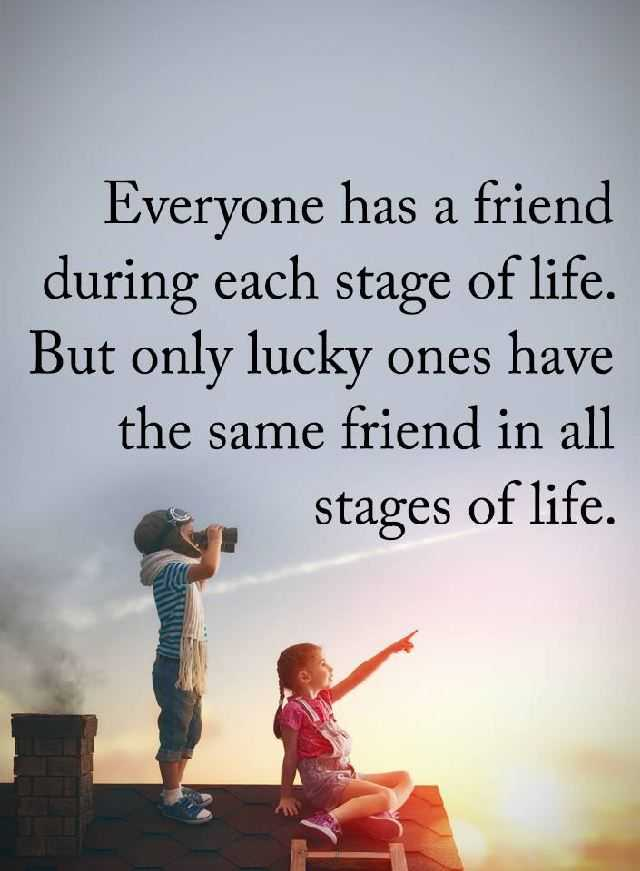 lucky friendship quotes