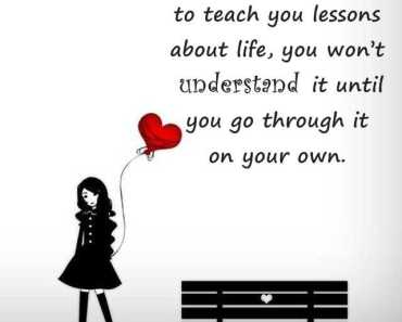 Best Life Quotes About Life Lessons