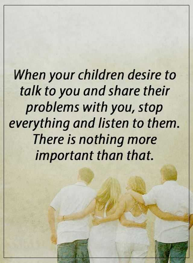 Best Life Quotes When Your Children Desire