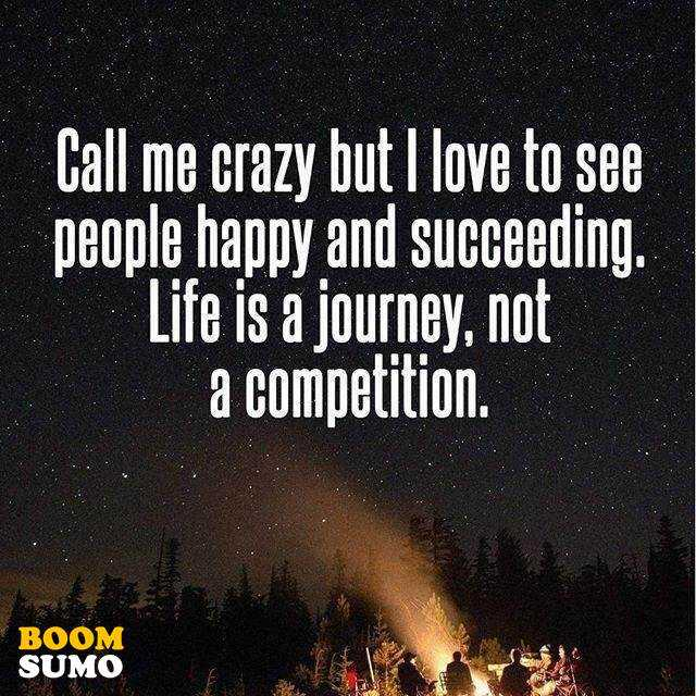 Best Life Quotes Life Is A Journey Not A Competition Keep It
