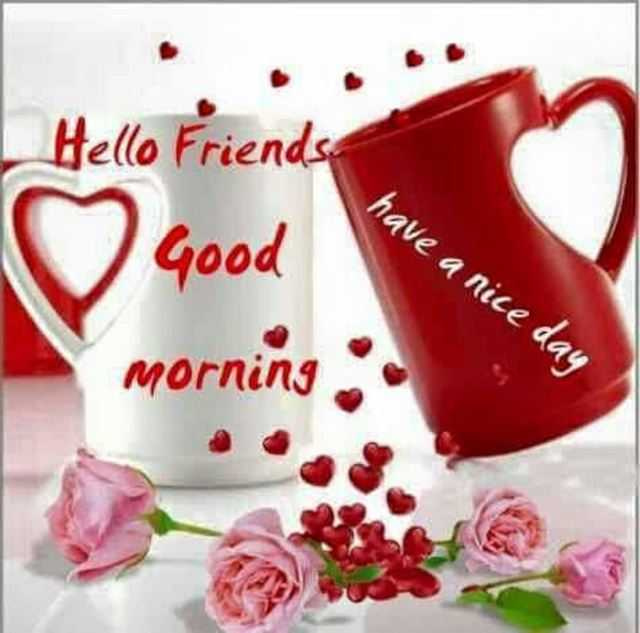 Good Morning Quotes Hello Friends Have A Nice Day