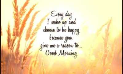 Good Morning Quotes I Wake Up And Choose To Be Happy