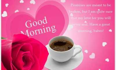 Good morning Quotes Promises are meant to be broken have a great morning