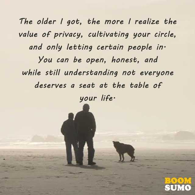 Positive Life Quotes I Realize The Value Of Privacy BoomSumo Quotes Interesting Value Of Life Quotes