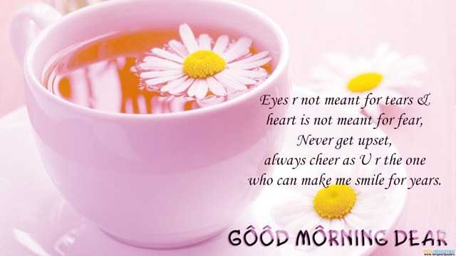 Good Morning Quotes Eyes Are Not Meant For Tears Boomsumo Quotes
