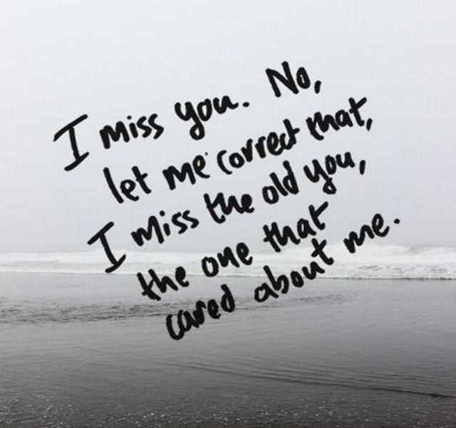 Sad I Miss You Quotes For Friends: Heart Touching Sad Love Quotes I Miss You Let Me Correct