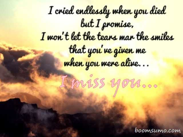 Relationship Quotes I Miss You I Cried Endlessly When You Boomsumo