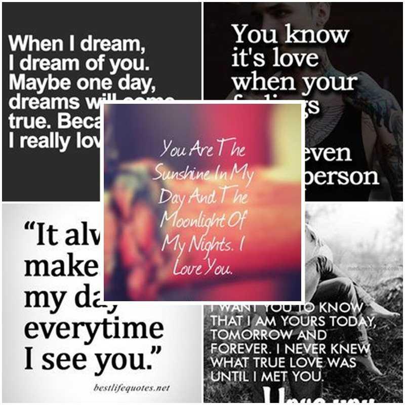 Latest Cute Love Dream Quotes - dream