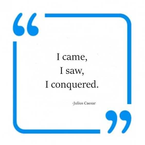 112 Julius Caesar Quotes 89