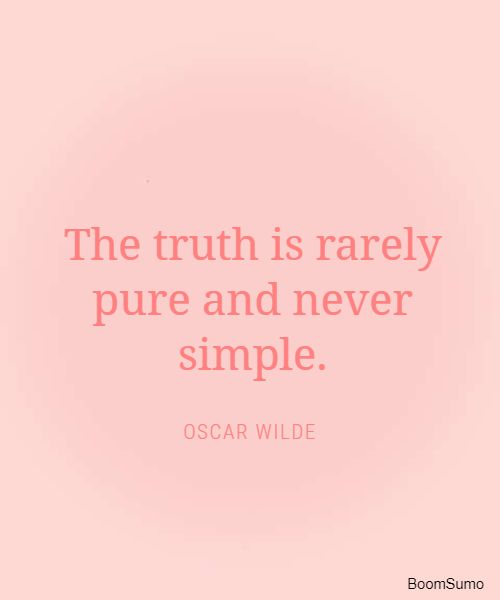 oscar wilde poems and quotes about truth