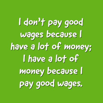 Inspirational quotes about wealth and money sayings