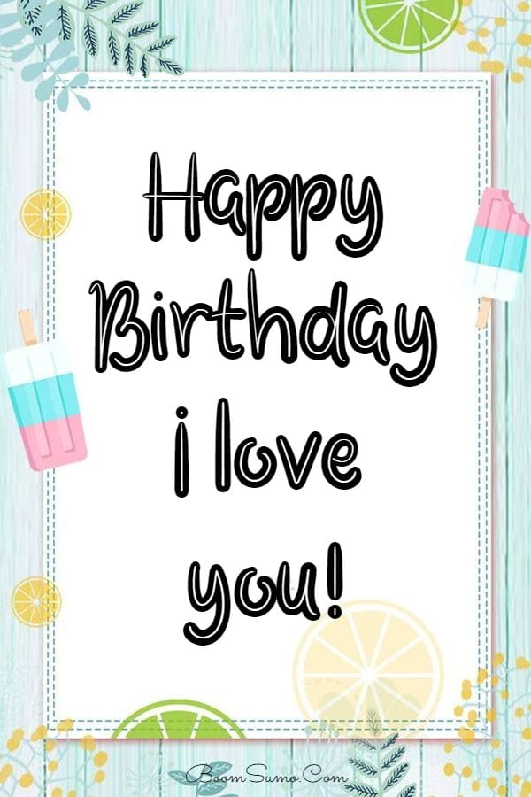 145 Best Happy Birthday Love Cute Romantic Birthday Wishes for Lovers   happy birthday sister, birthday, message for a friend birthday