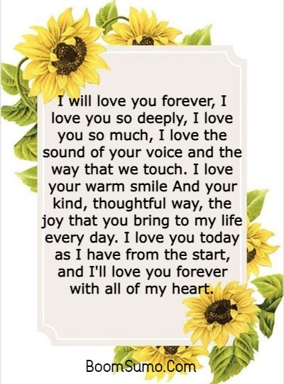 145 Unique I Love You Forever Quotes For Him and Her | i promise to be with you forever quotes, i need you forever quotes, i hate you forever quotes