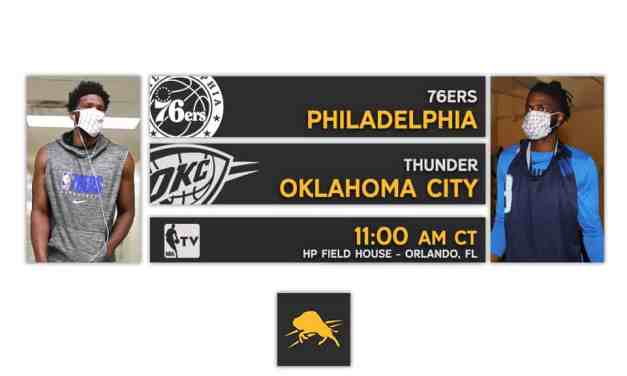 Scrimmage #2: Thunder vs 76ers Preview & Live Stream