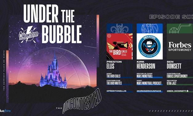 Under the Bubble Ep. 6: Pelicans, Mavericks, & Jazz