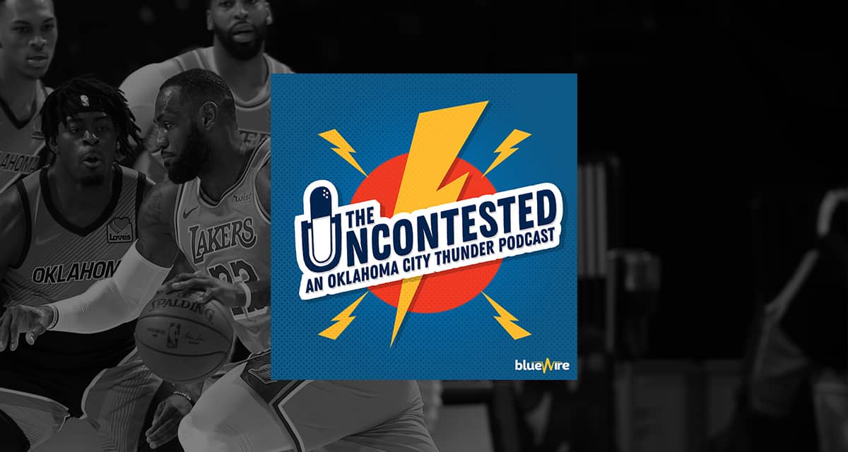 Post Game #11: Thunder Lose to the Lakers 99-128