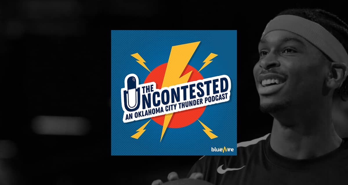 SGA Extends with OKC, Kemba buyout + Who the Thunder could sign in Free Agency