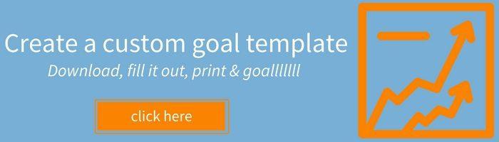 Create a custom goal template