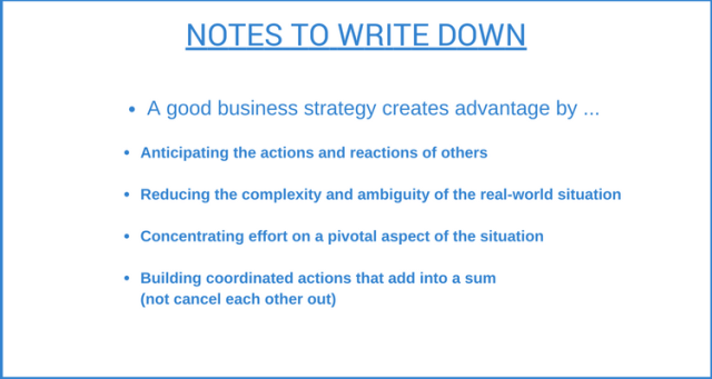 Business Strategy Notes