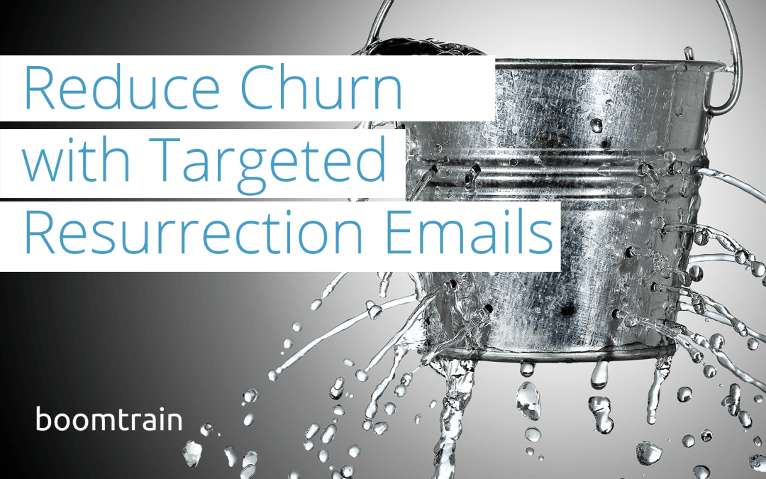 Reduce Churn with Targeted Resurrection Emails