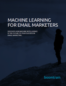 Boomtrain makes machine learning easy for marketers...it's time to be an email rockstar with Boomtrain.