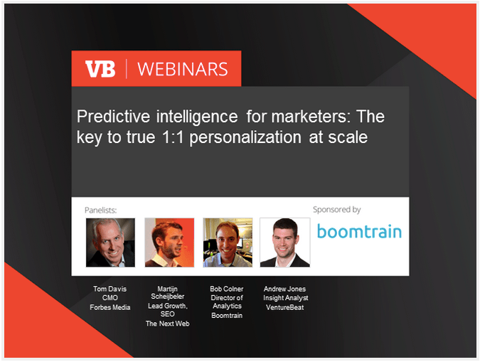 In this pre-recorded webinar, learn how industry leaders from Forbes, TheNextWeb, and VentureBeat are handling the rise for the demand in true 1:1 individualization that taxes and stretches how we look at personalization. People require 1:1 user experiences on web sites, in emails, and mobile apps.