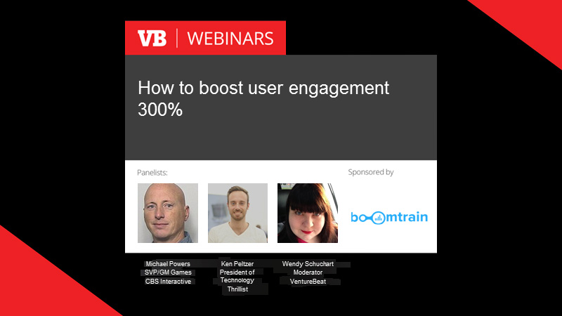 [On-Demand Webinar] How to Boost User Engagement 300%