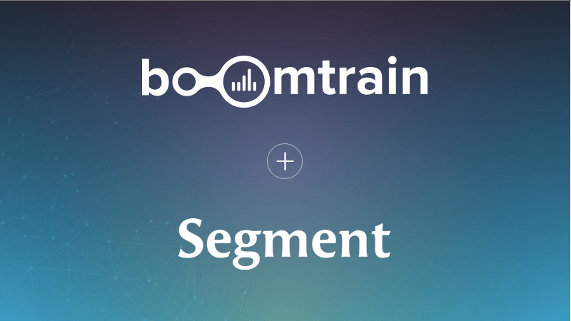 Announcing Boomtrain's Integration with Segment