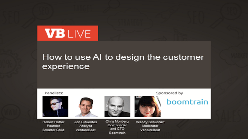 [On-Demand Webinar] How to Use AI in Designing the Customer Experience