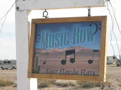 Boondocker Chatter Online - Music on the Desert