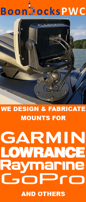 we fabricate mounts for Yamaha FX Waverunners