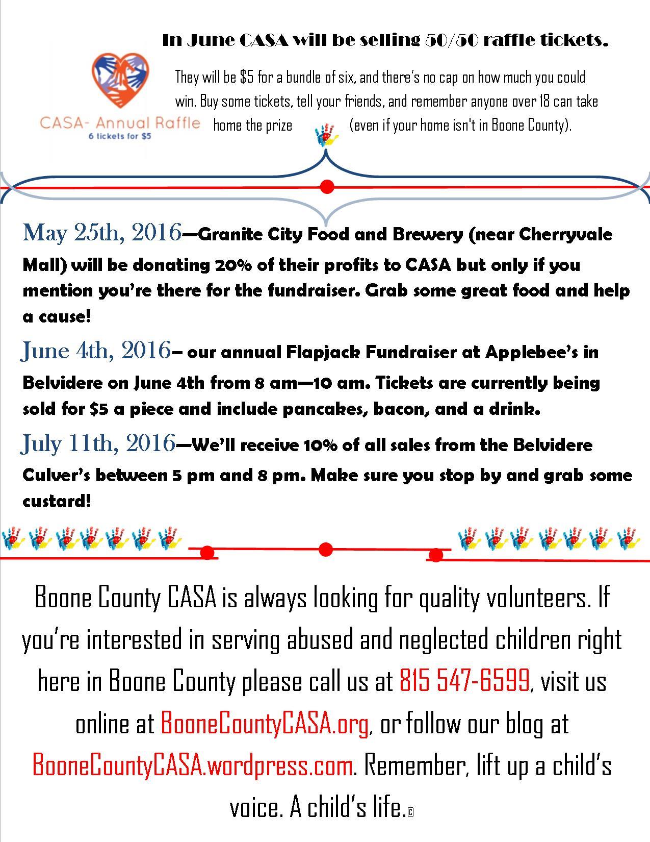 Win And Help Casa Boone County Casa