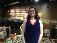 Sarah, the Museum's Registrar.