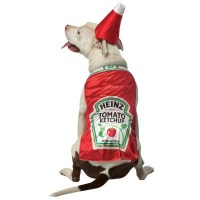 Food Costumes For Dogs : Ketchup, Taco, Hotdog, Halloween ...