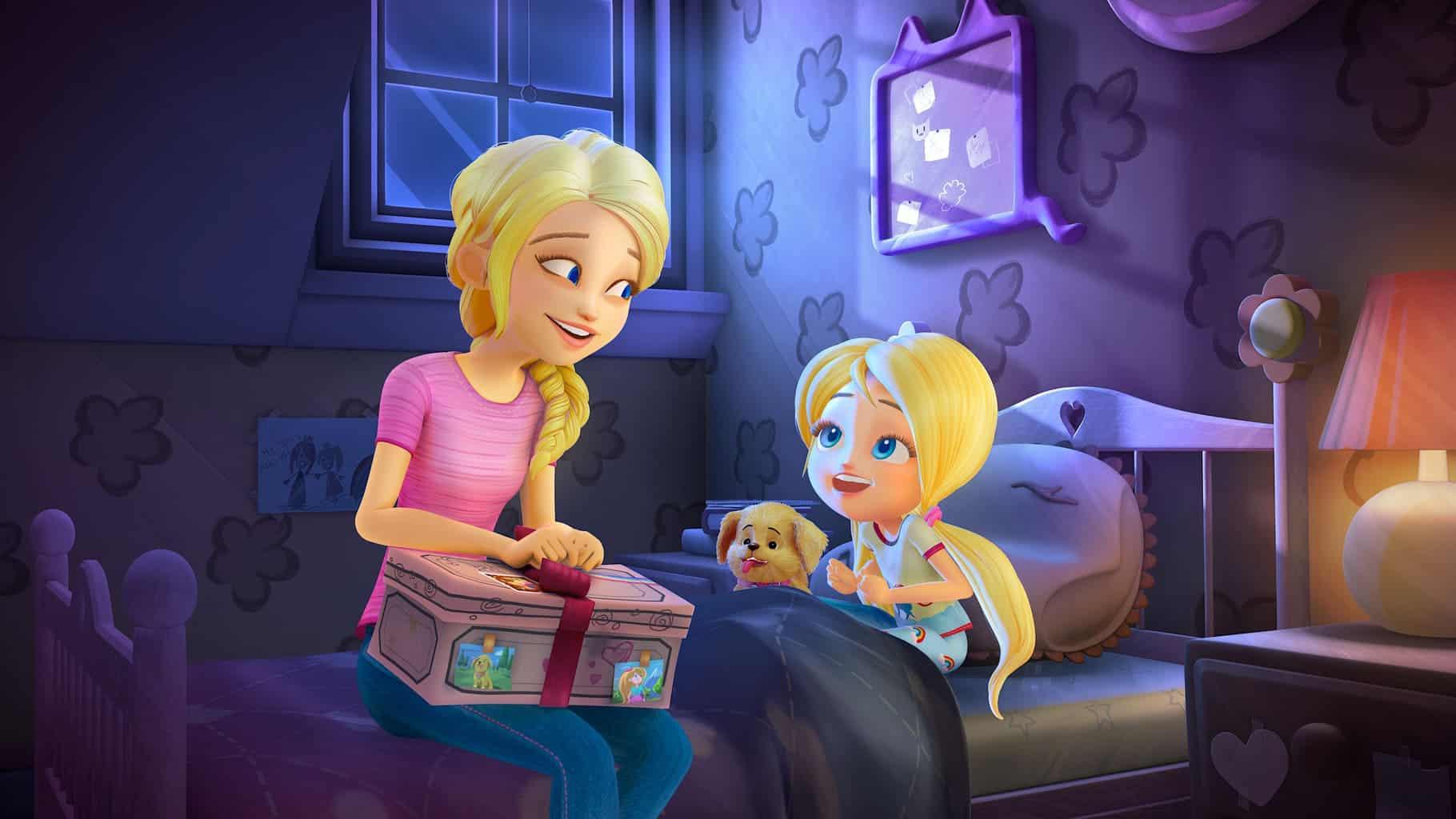 Barbie Bedroom Cartoon Novocom Top