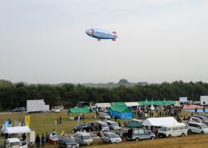 Over the festival site