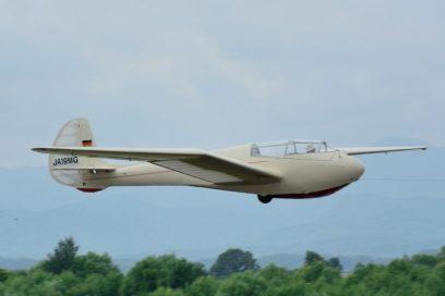 離陸するMG-19