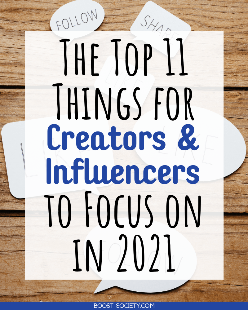 These are the top 11 things content creators and Instagram influencers need to do in 2021. From trying new trends to building a deeper connection with your audience, these are the tips that will help you grow in 2021. #influencer #instagram | influencer Instagram | how to be an influencer | Instagram influencer tips | how to be a travel influencer | travel influencer content | travel influencer Instagram | how to be a lifestyle influencer | lifestyle influencer Instagram | content creator tips