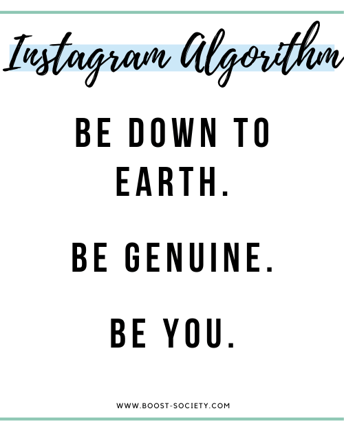 The real secret to growing on Instagram in 2020 is to be genuine and be yourself