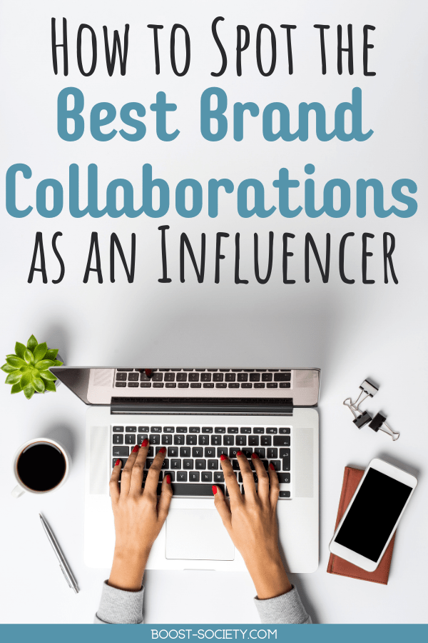Click here to see what makes for the best brand collaborations (and some things to watch out for!). These signs of a good brand collaboration let you know if you should take that brand deal or not. #influencer #instagram #influencermarketing #brandcollaborations | Instagram influencer | how to work with brands | paid brand collaborations | influencer marketing | brand collaborations social media | how to make money on Instagram | how to find brands to work with | influencer marketing tips