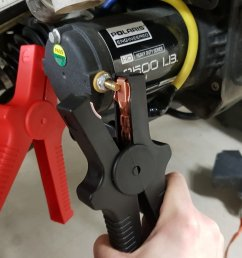 atv winch starter cable test [ 1280 x 853 Pixel ]