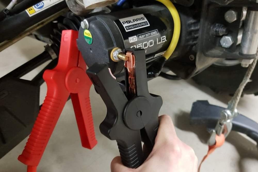 medium resolution of atv winch starter cable test
