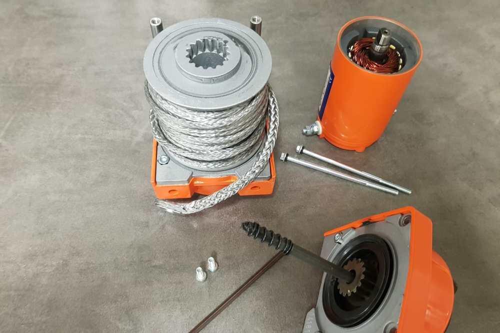 medium resolution of atv winch drum