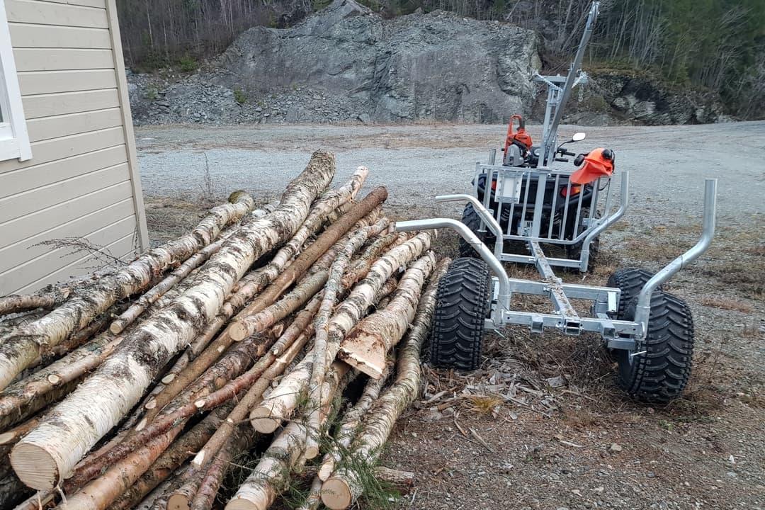 Log Arch Trailer Plans