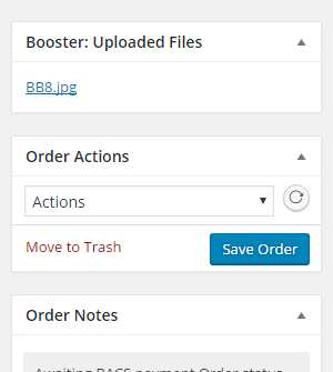 WooCommerce Checkout Files Upload - Admin Uploaded Files Metabox