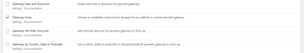 Payment Gateways Icons module