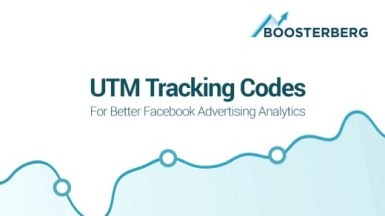 Boosterberg FB Ads Automation Tool Using UTM Tracking Codes in FB Campaigns