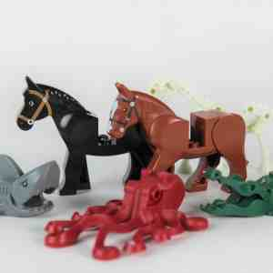 2x Large LEGO® Animal Pack