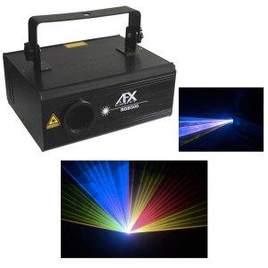 Jeux de lumières laser